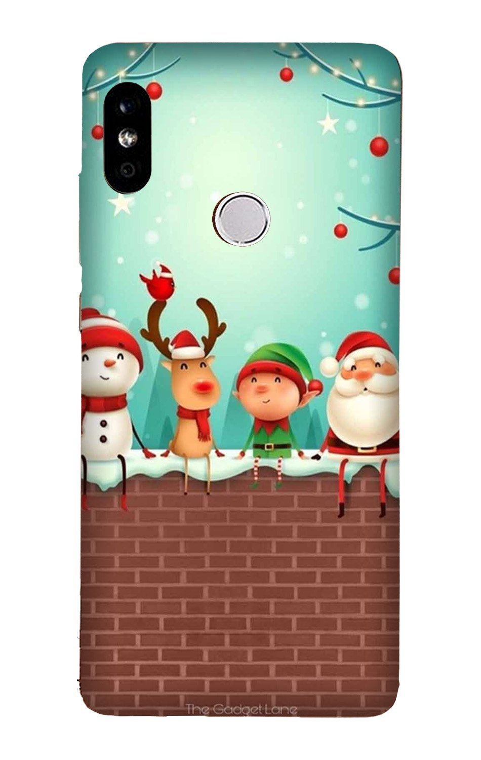 Santa Claus Mobile Back Case for Mi A2  (Design - 334)