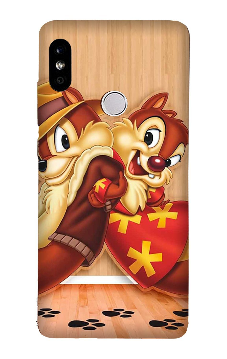 Chip n Dale Mobile Back Case for Mi A2  (Design - 335)