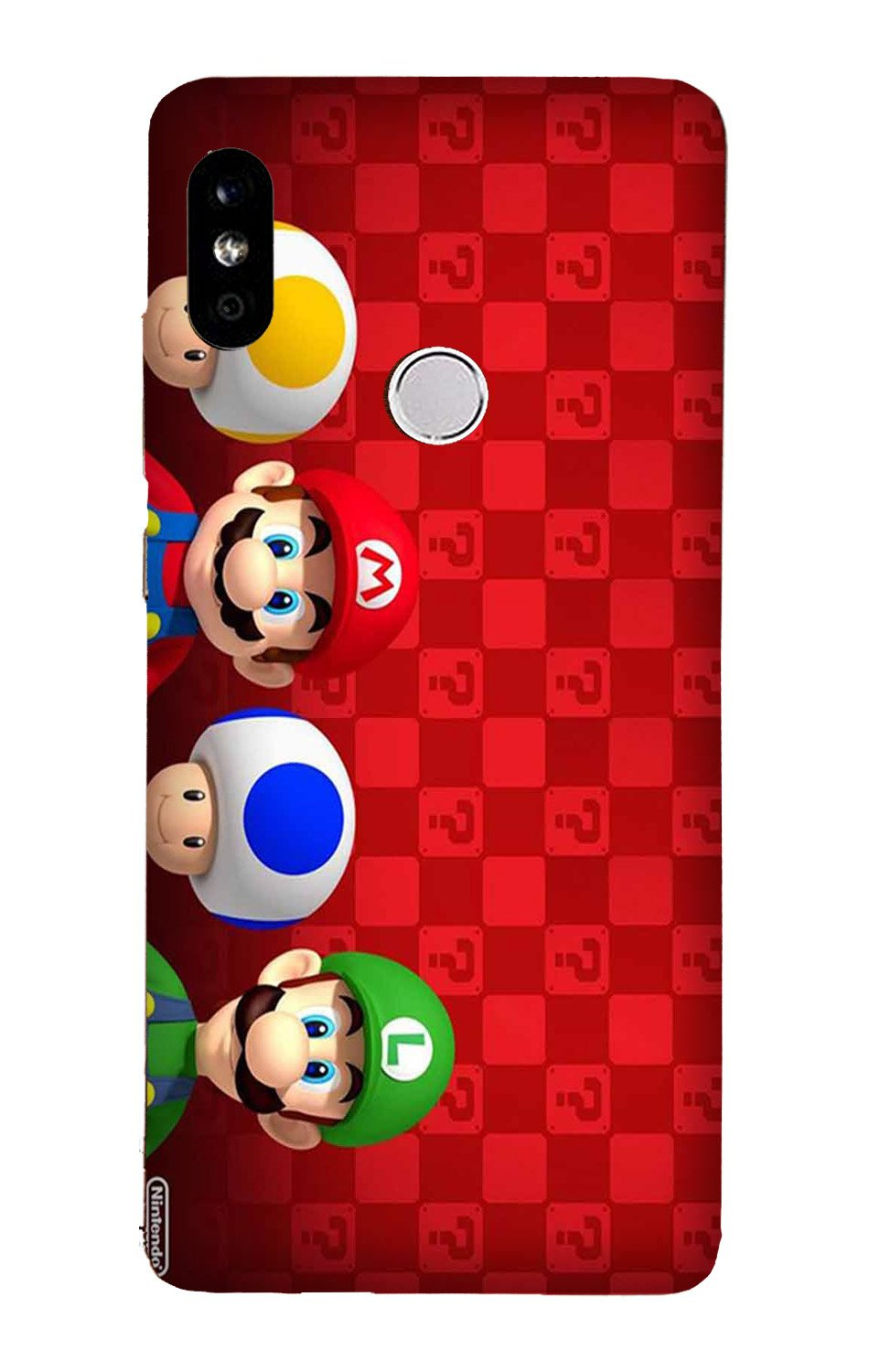 Mario Mobile Back Case for Mi A2  (Design - 337)