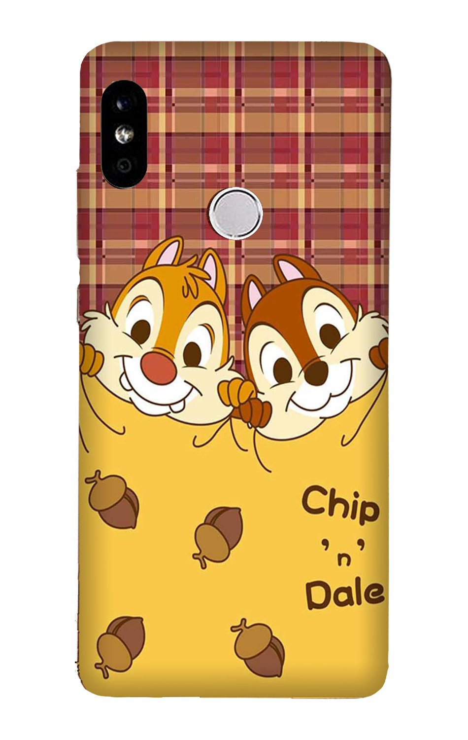 Chip n Dale Mobile Back Case for Mi A2  (Design - 342)