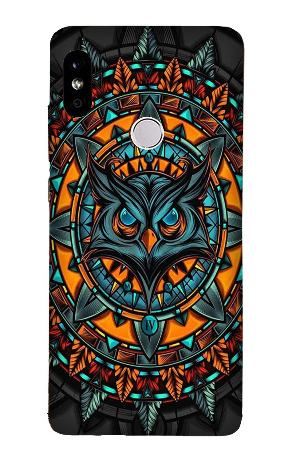 Owl Mobile Back Case for Mi A2  (Design - 360)