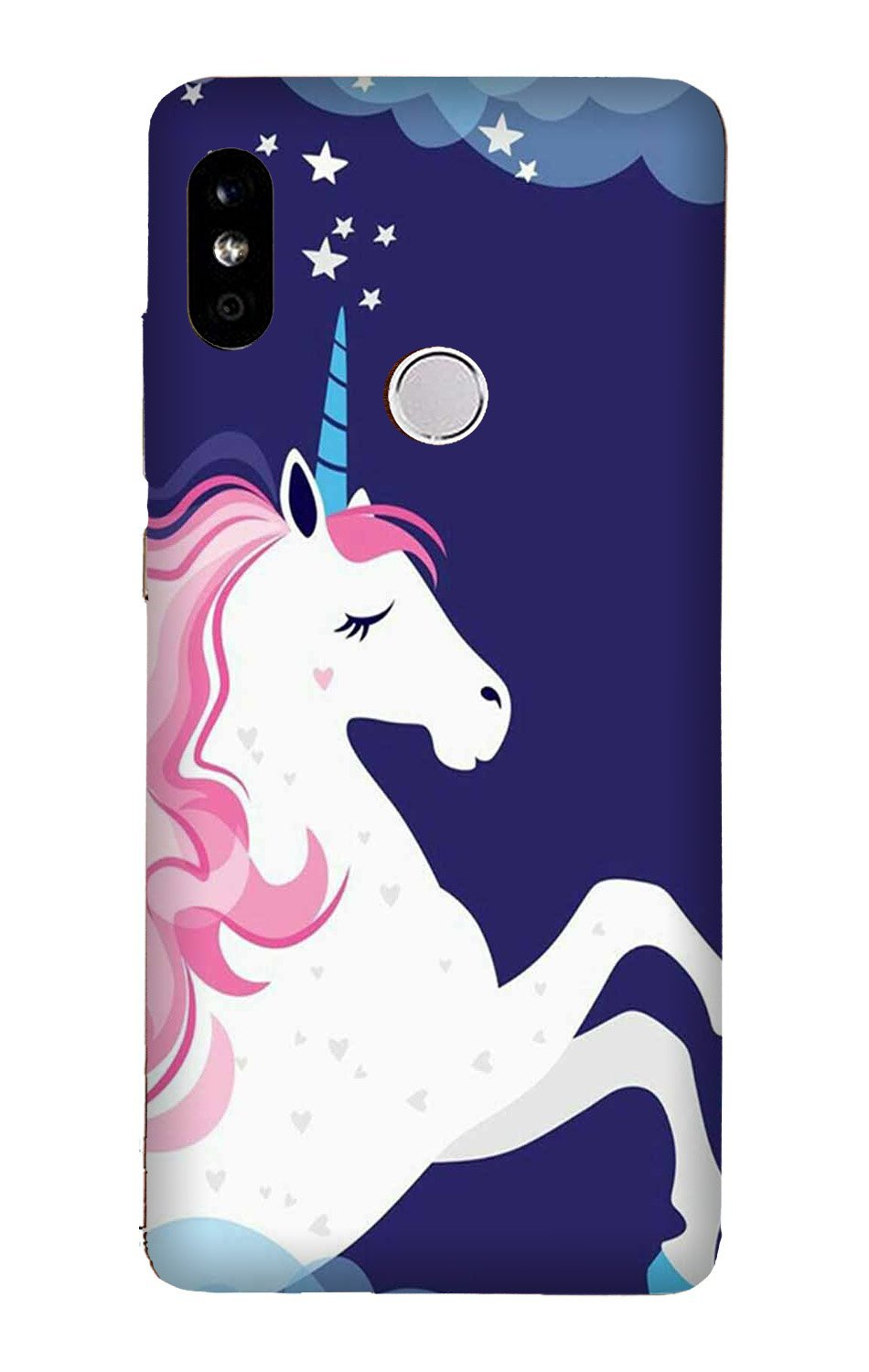 Unicorn Mobile Back Case for Mi A2  (Design - 365)