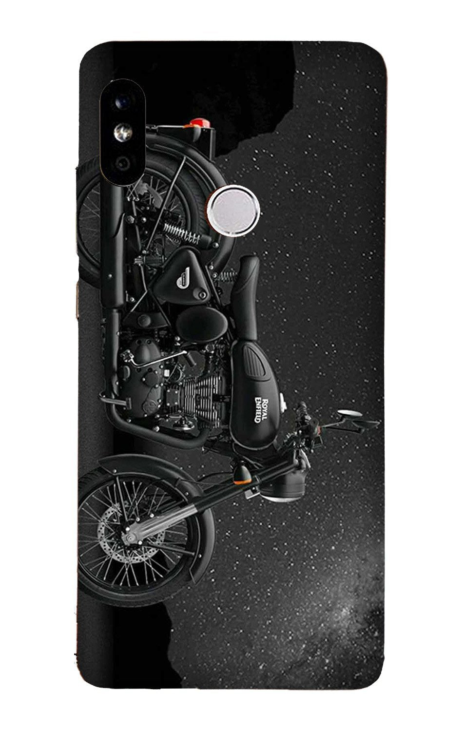 Royal Enfield Mobile Back Case for Mi A2  (Design - 381)