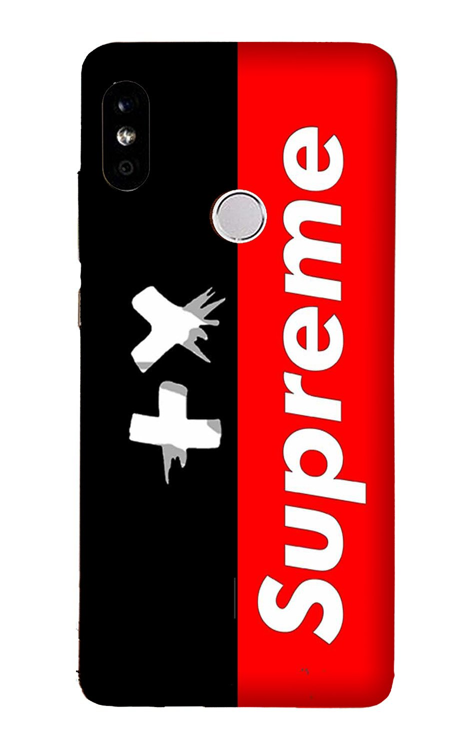 Supreme Mobile Back Case for Mi A2  (Design - 389)