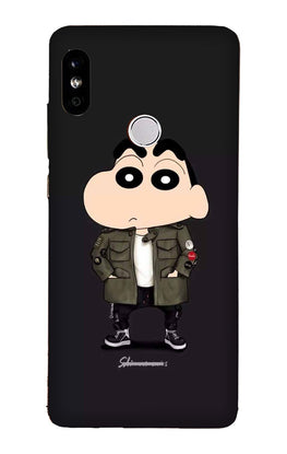 Shin Chan Mobile Back Case for Redmi 6 Pro  (Design - 391)