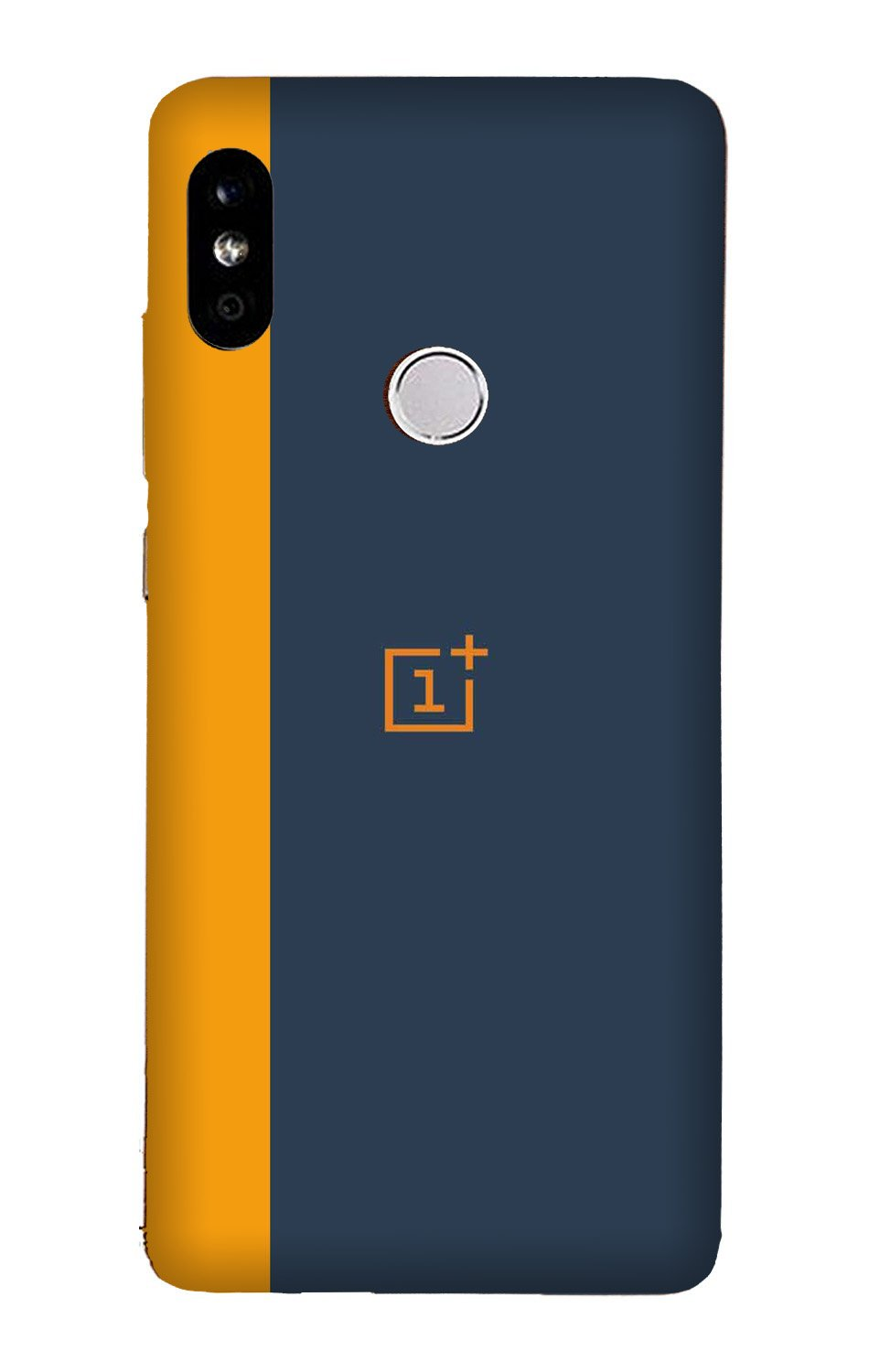 Oneplus Logo Mobile Back Case for Mi A2  (Design - 395)
