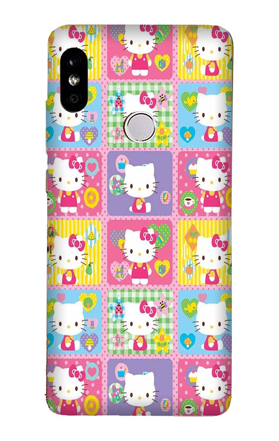 Kitty Mobile Back Case for Mi A2  (Design - 400)