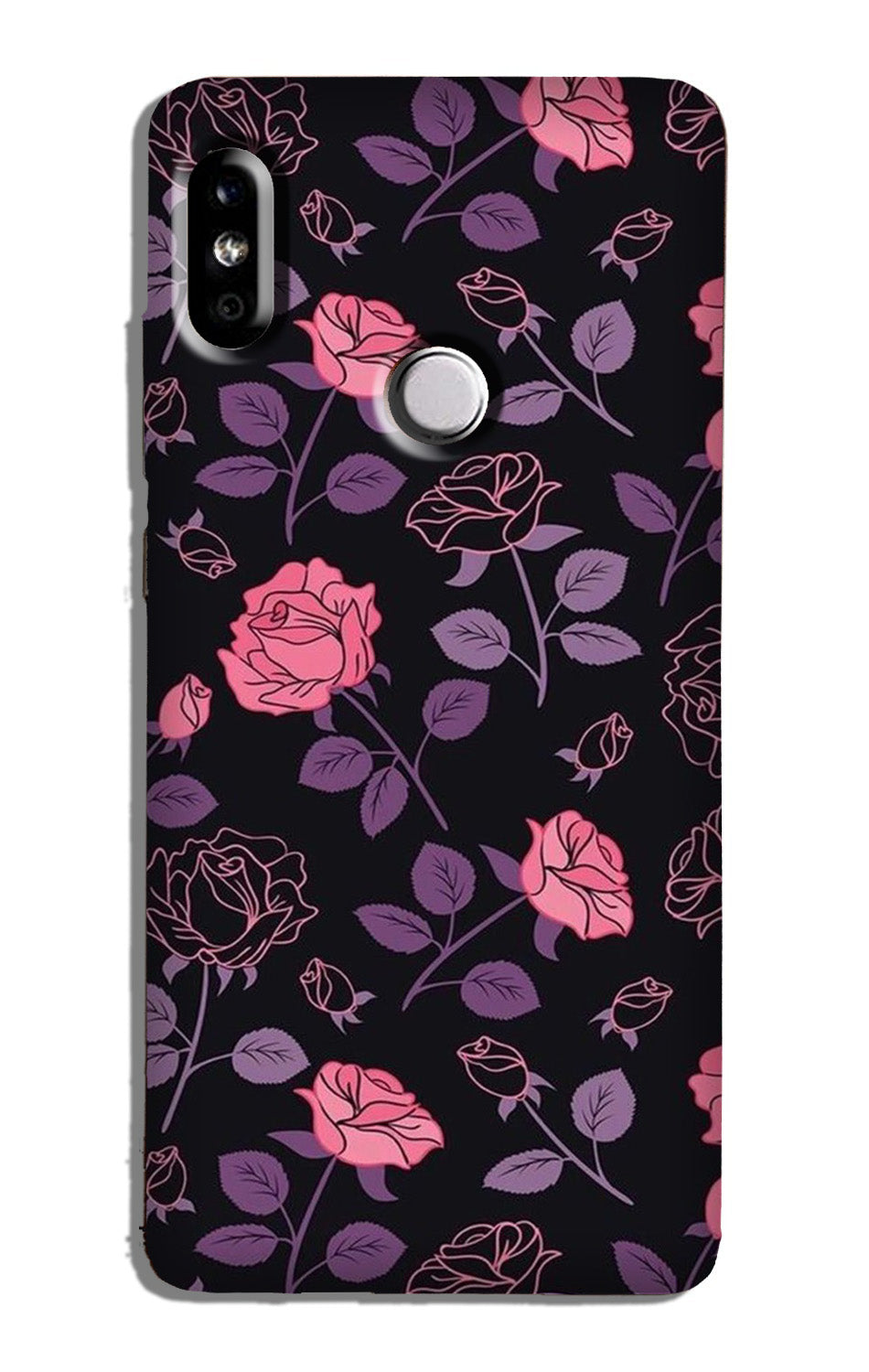 Rose Pattern Case for Redmi Note 6 Pro