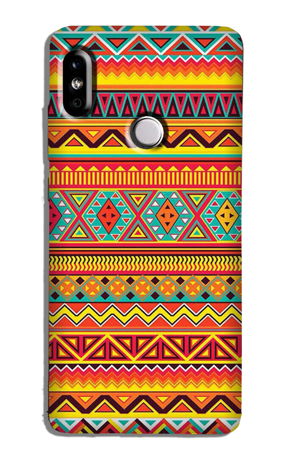 Zigzag line pattern Case for Redmi Y2