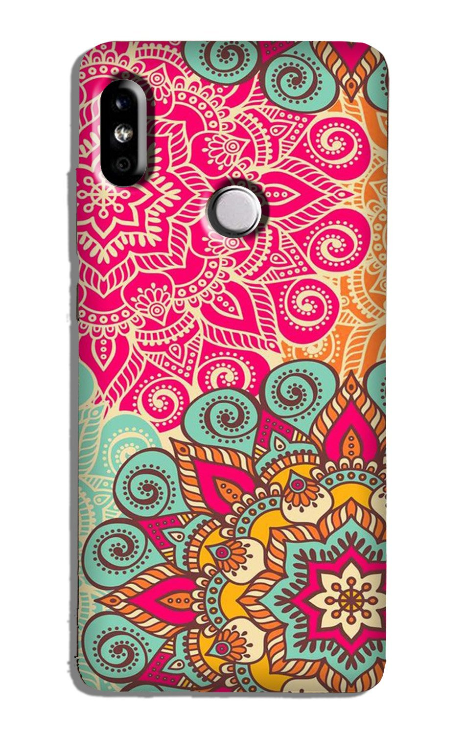 Rangoli art Case for Redmi Note 5 Pro