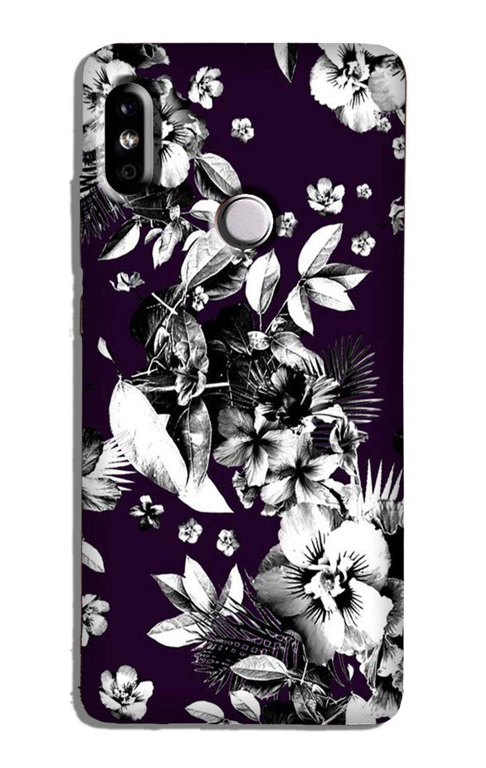 white flowers Case for Redmi Note 6 Pro