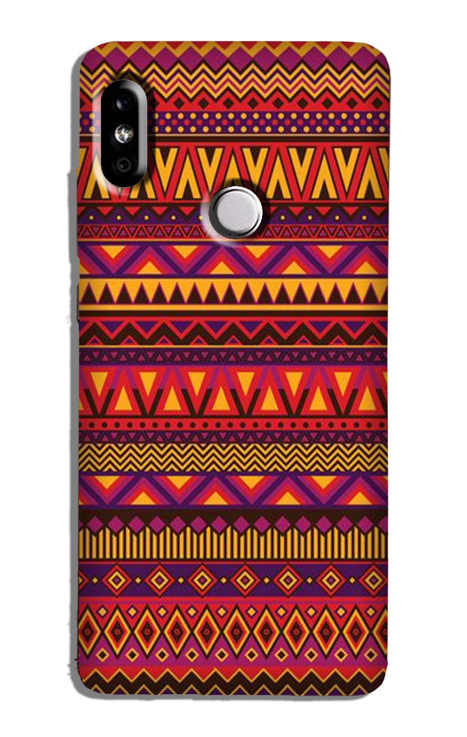 Zigzag line pattern2 Case for Redmi Note 6 Pro