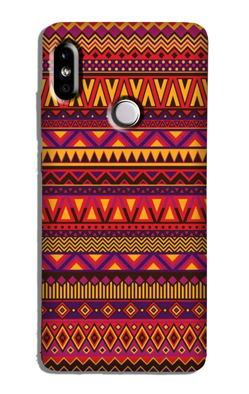 Zigzag line pattern2 Case for Redmi Note 5 Pro