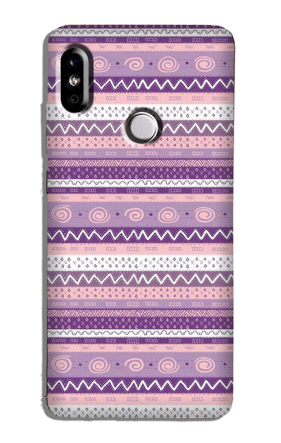 Zigzag line pattern3 Case for Redmi Y2