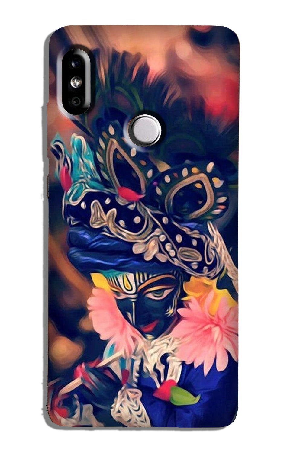 Lord Krishna Case for Redmi 6 Pro