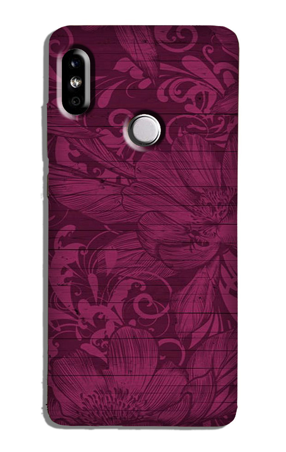 Purple Backround Case for Mi A2