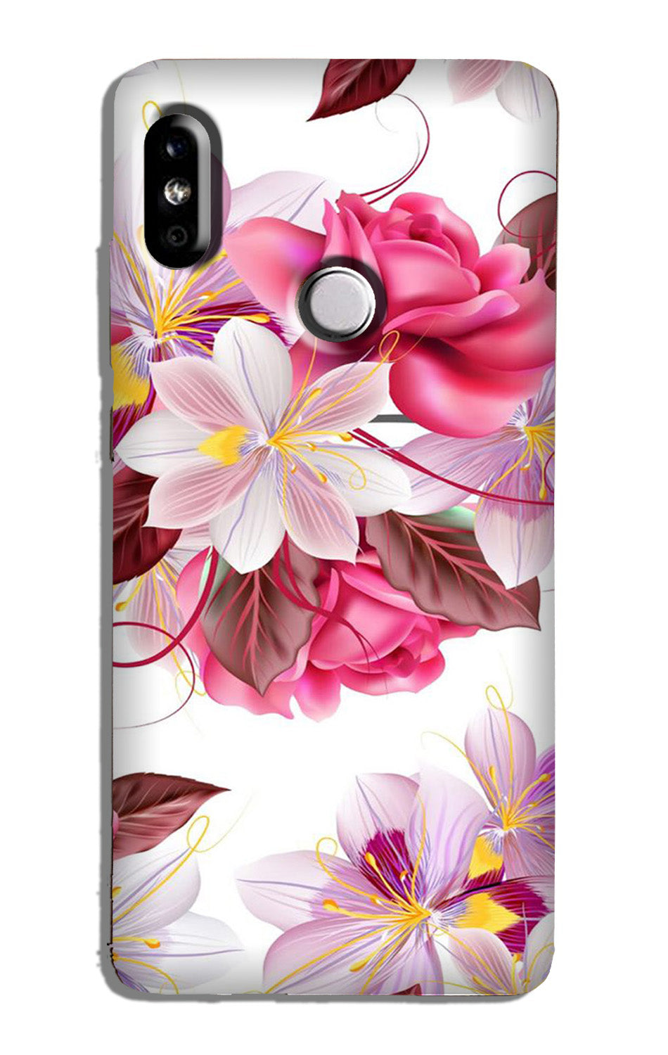 Beautiful flowers Case for Redmi 6 Pro