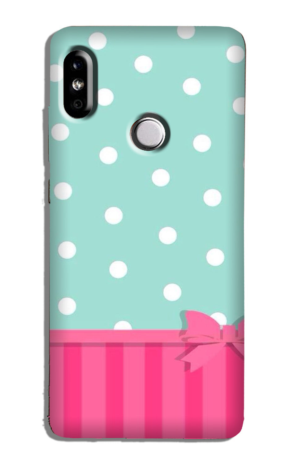 Gift Wrap Case for Mi A2