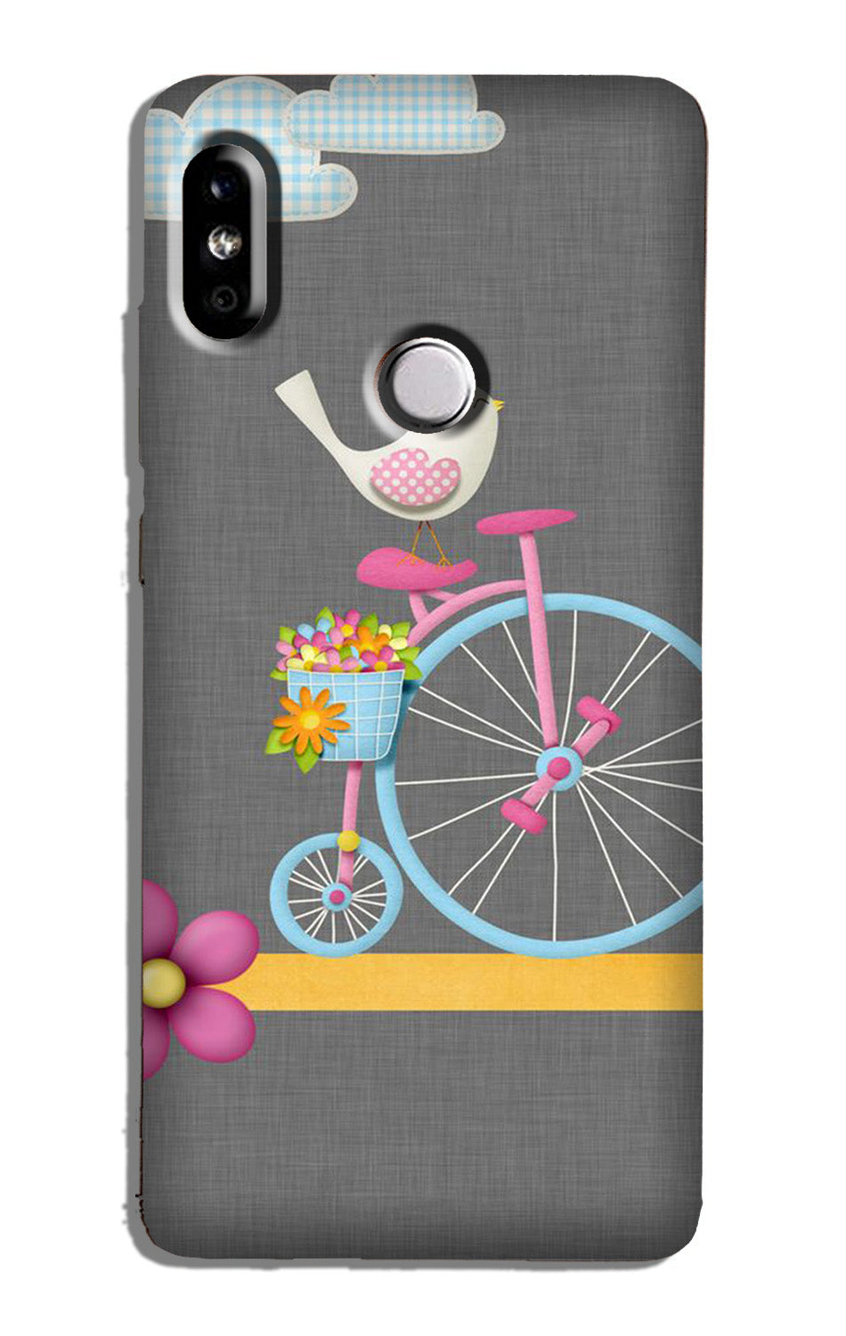 Sparron with cycle Case for Redmi Y2