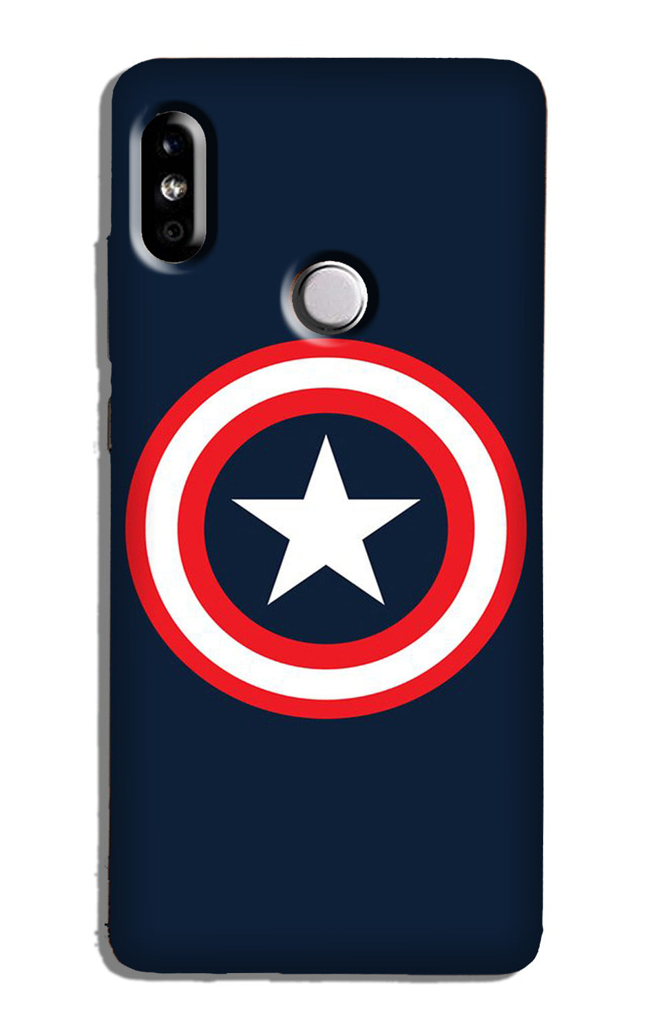 Captain America Case for Redmi 6 Pro