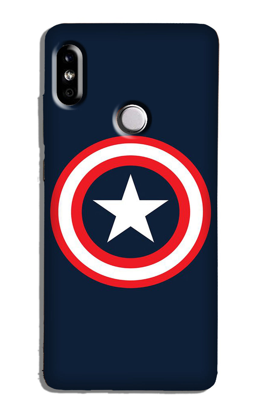 Captain America Case for Redmi Y2