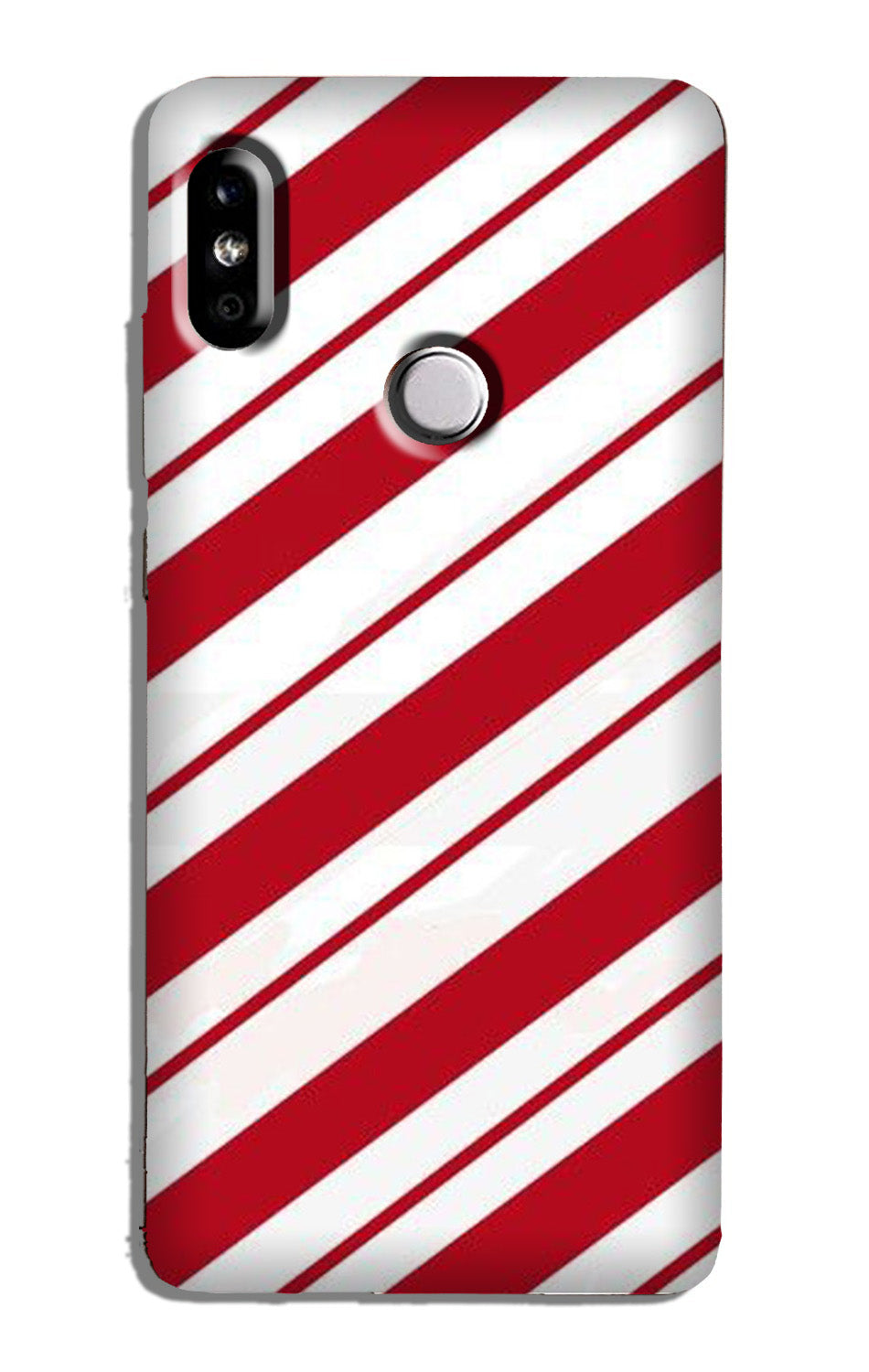 Red White Case for Mi A2