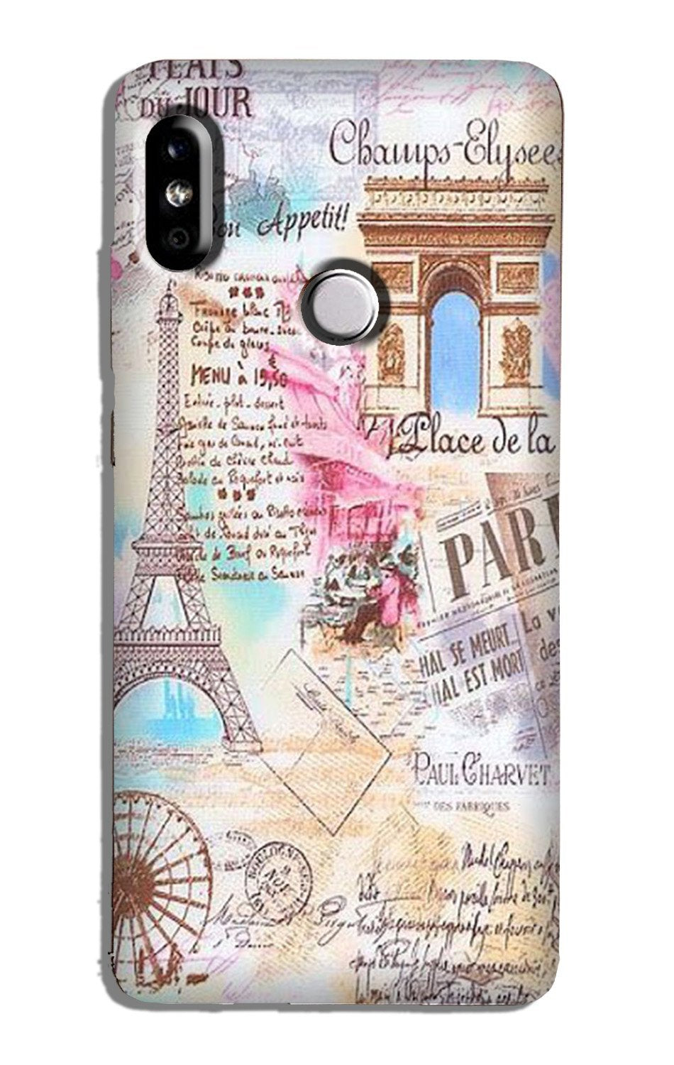 Paris Eiftel Tower Case for Redmi Note 5 Pro