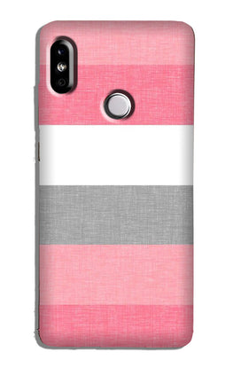 Pink white pattern Case for Mi A2