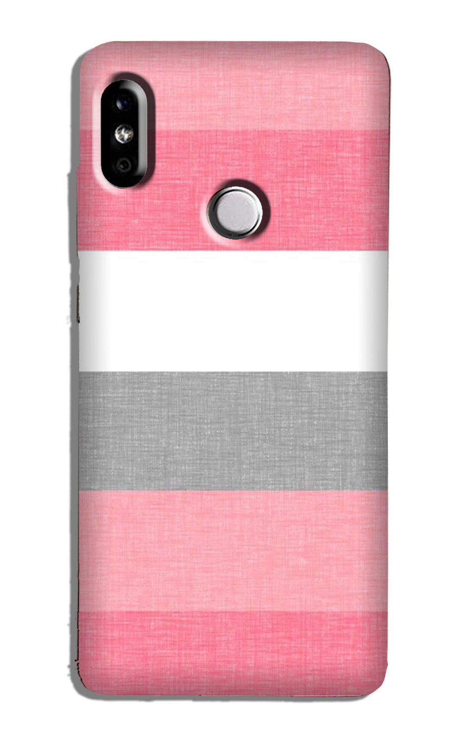 Pink white pattern Case for Redmi Y2