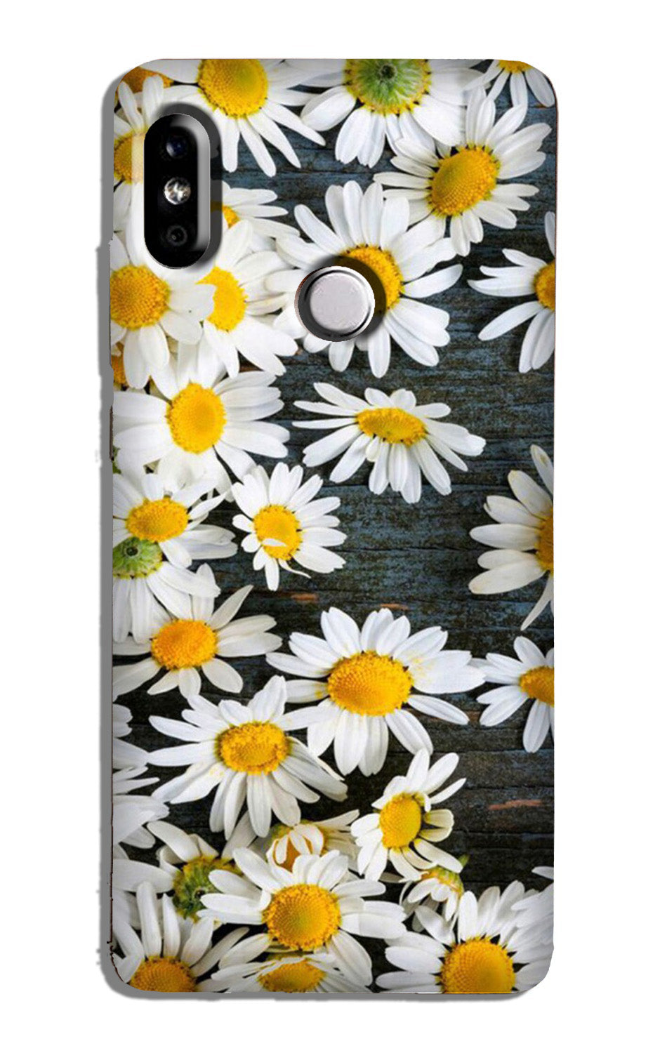 White flowers Case for Redmi 6 Pro