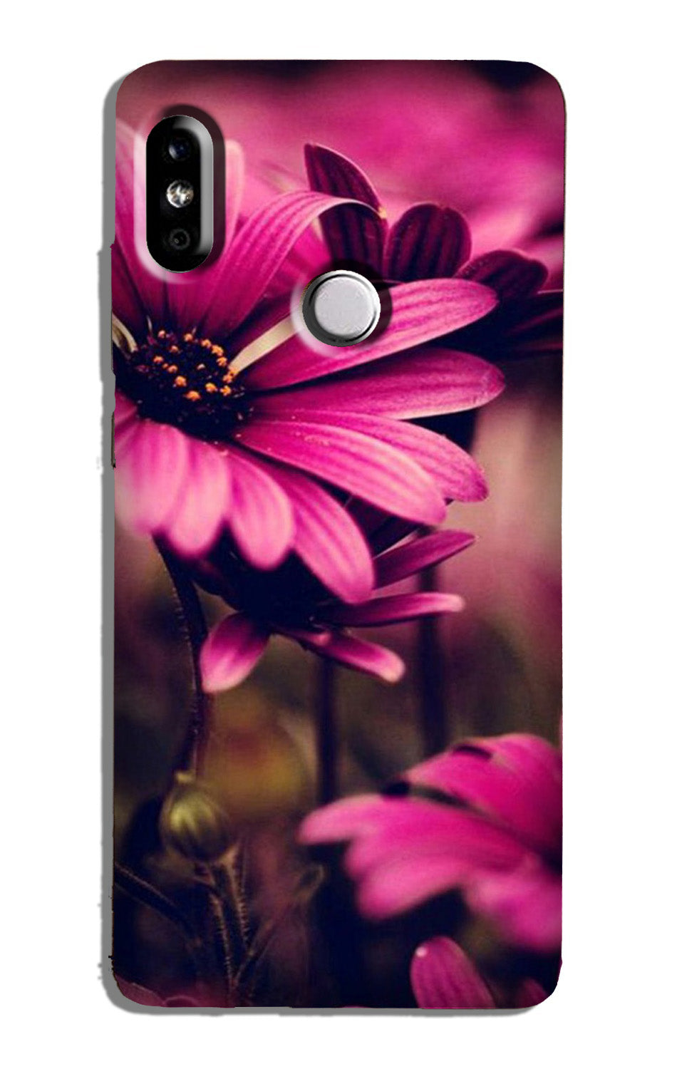 Purple Daisy Case for Mi A2