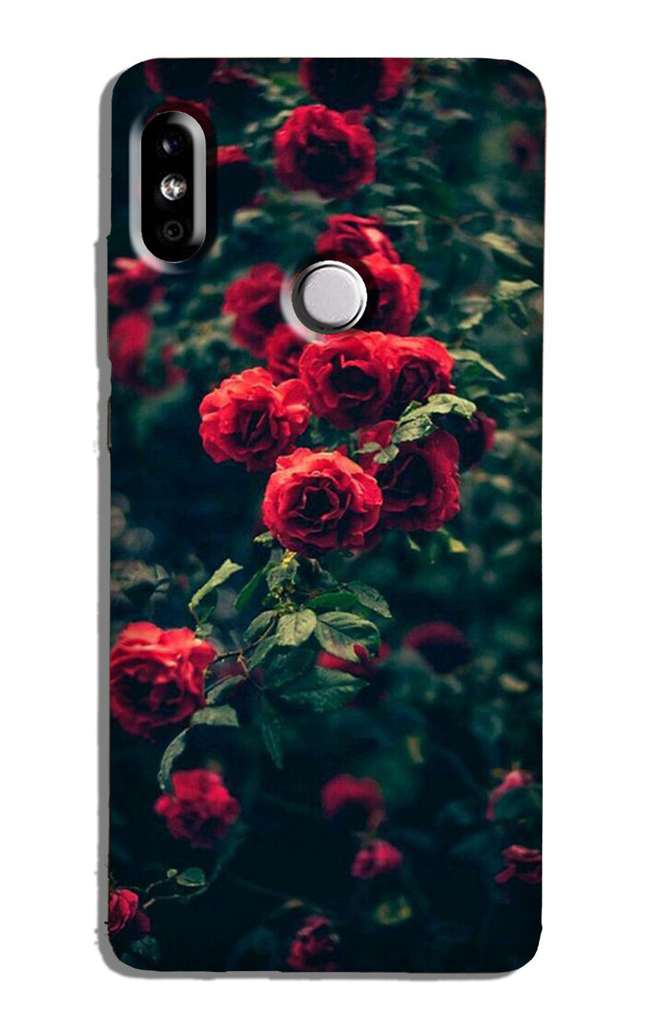 Red Rose Case for Redmi Note 6 Pro