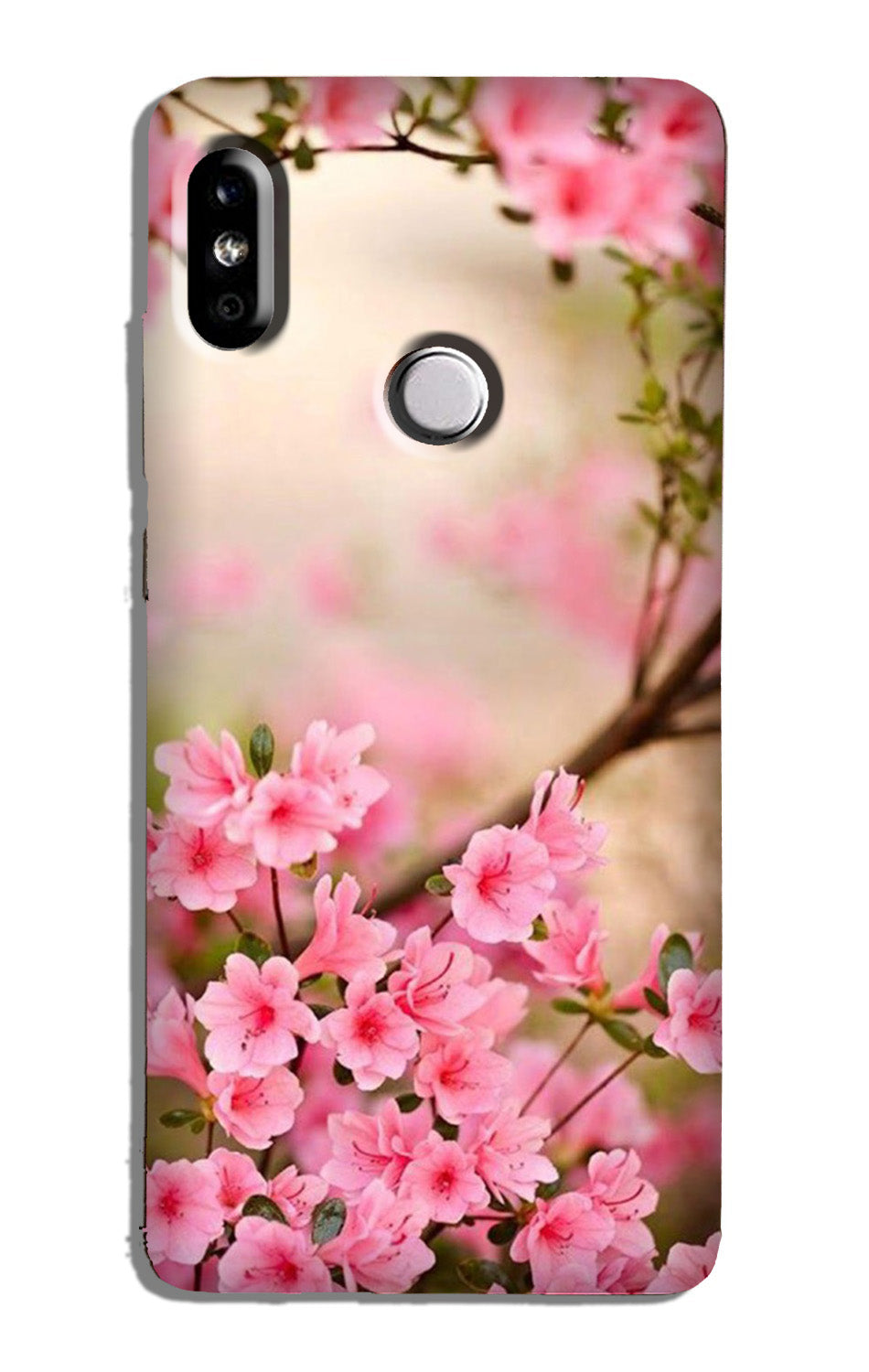 Pink flowers Case for Redmi Note 6 Pro