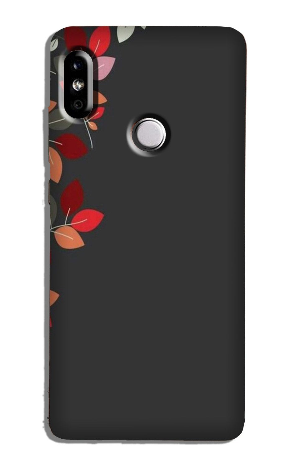 Grey Background Case for Redmi Note 5 Pro