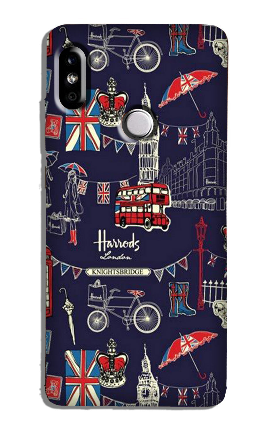 Love London Case for Redmi Note 6 Pro