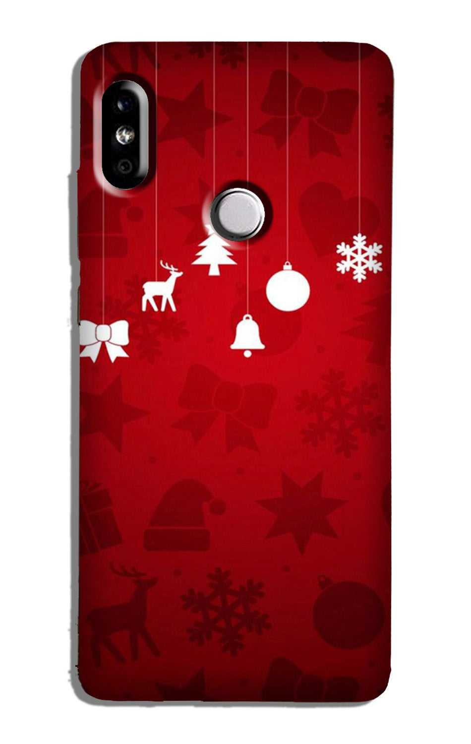 Christmas Case for Redmi Y2