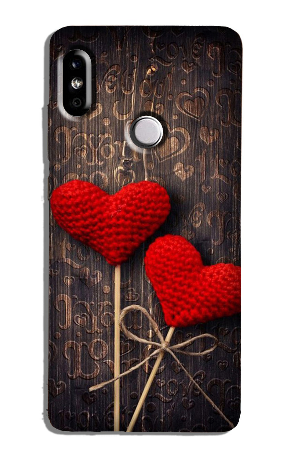 Red Hearts Case for Redmi 6 Pro