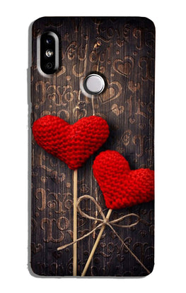 Red Hearts Case for Redmi Y2