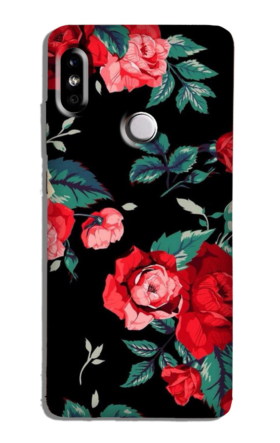 Red Rose Case for Mi A2