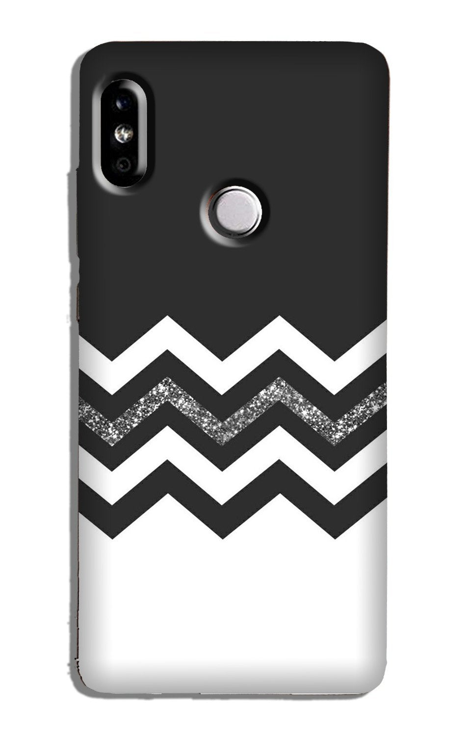 Black white Pattern Case for Redmi Note 5 Pro