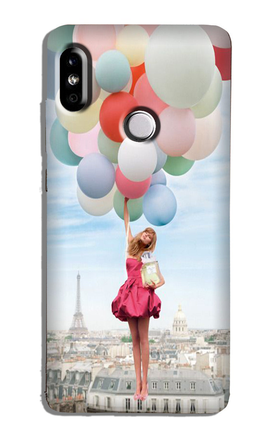 Girl with Baloon Case for Redmi 6 Pro