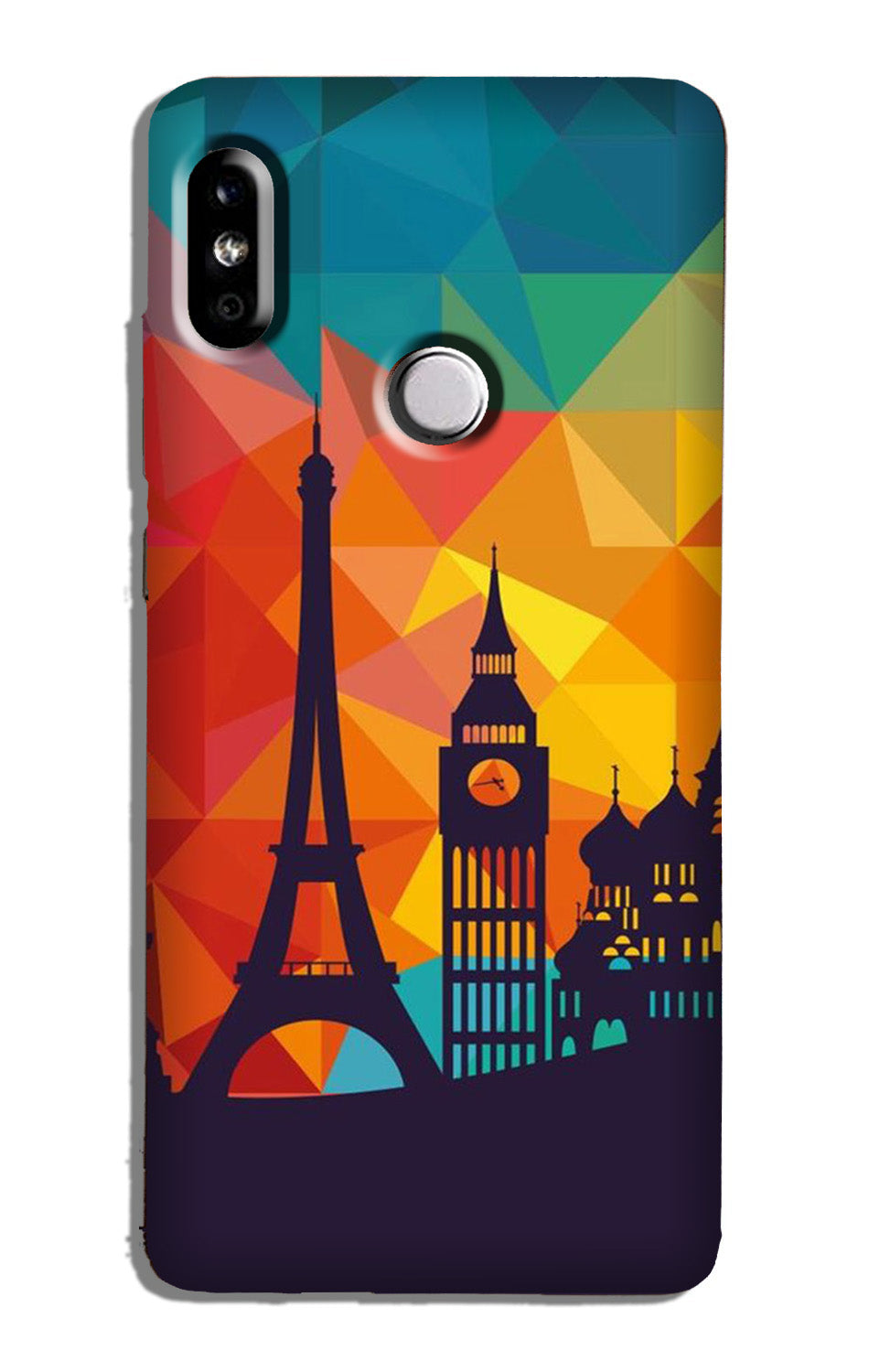 Eiffel Tower Case for Redmi Y2