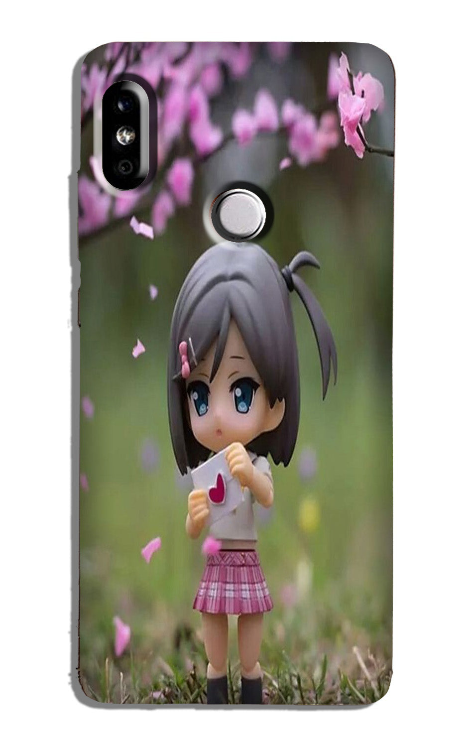 Cute Girl Case for Redmi 6 Pro