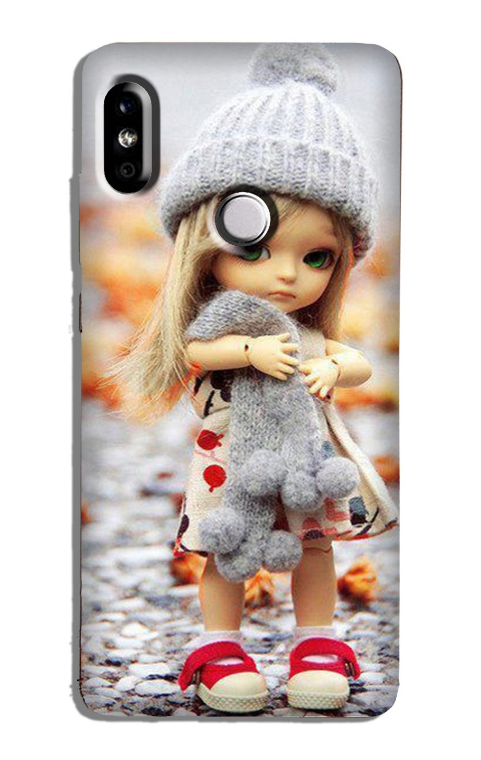 Cute Doll Case for Xiaomi Redmi Y3