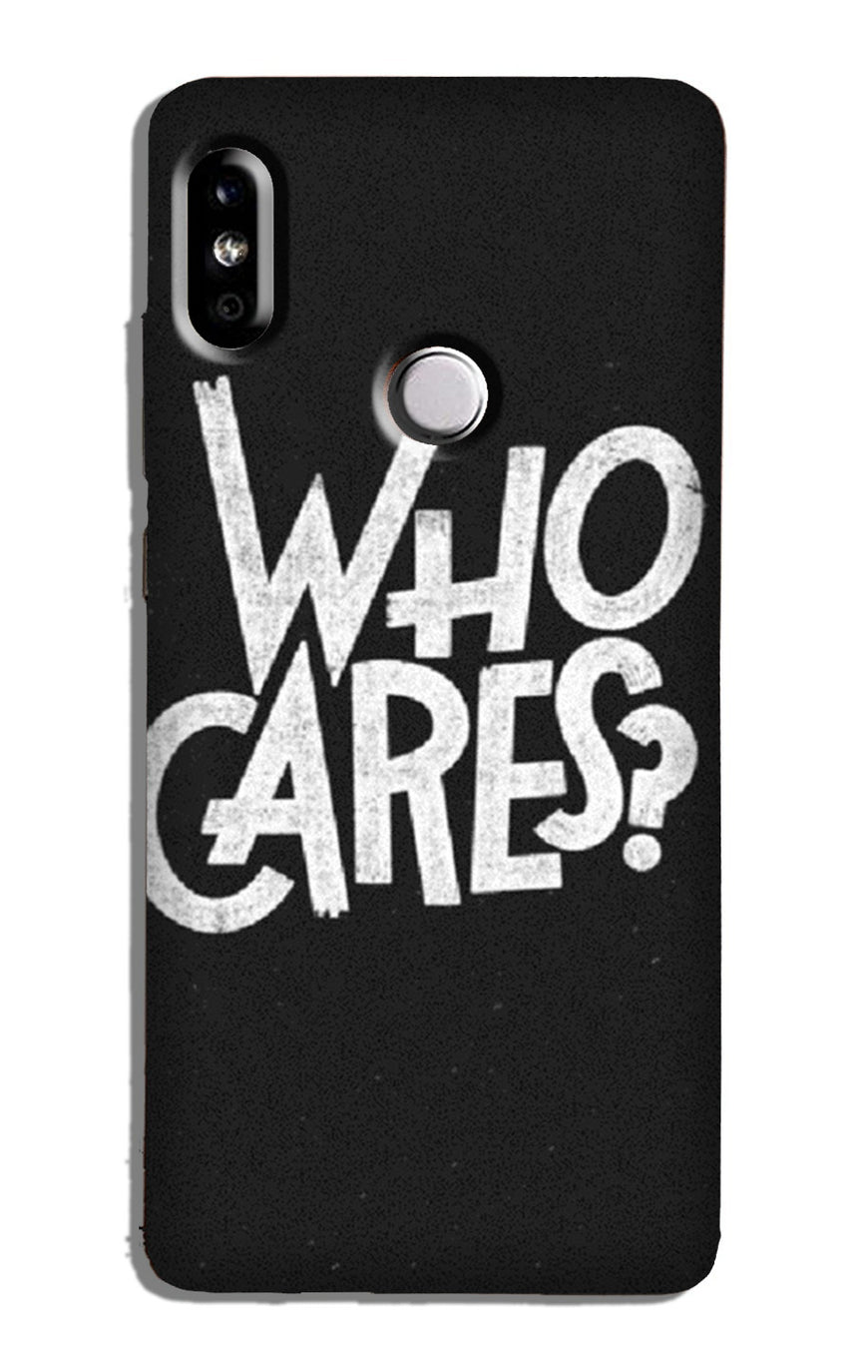 Who Cares Case for Redmi 6 Pro