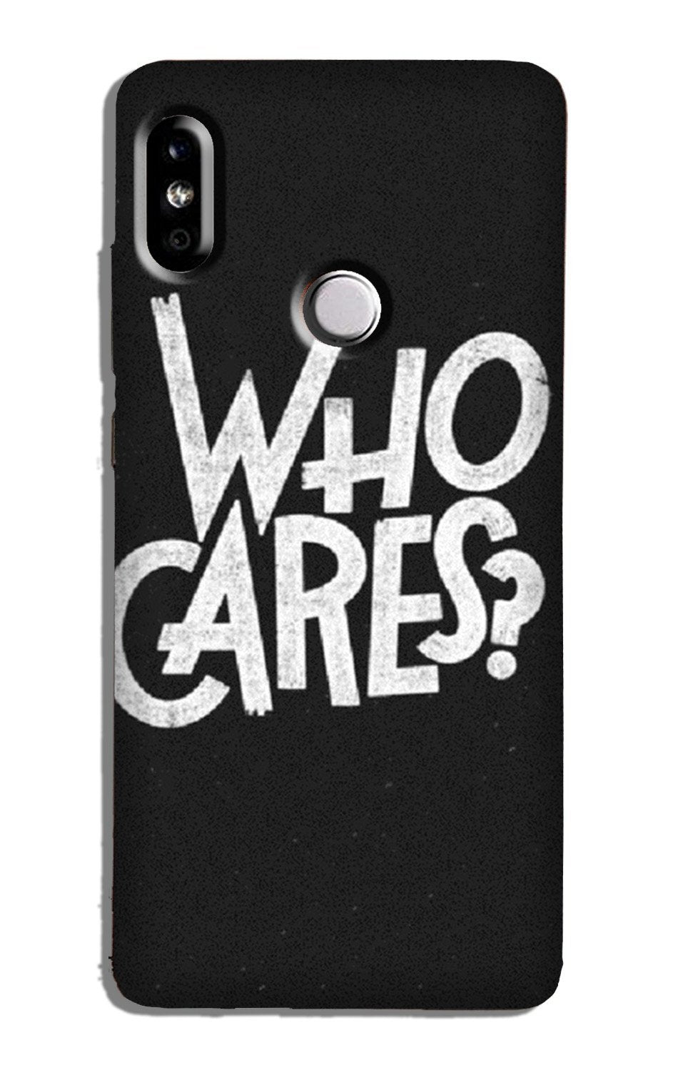 Who Cares Case for Redmi Note 5 Pro