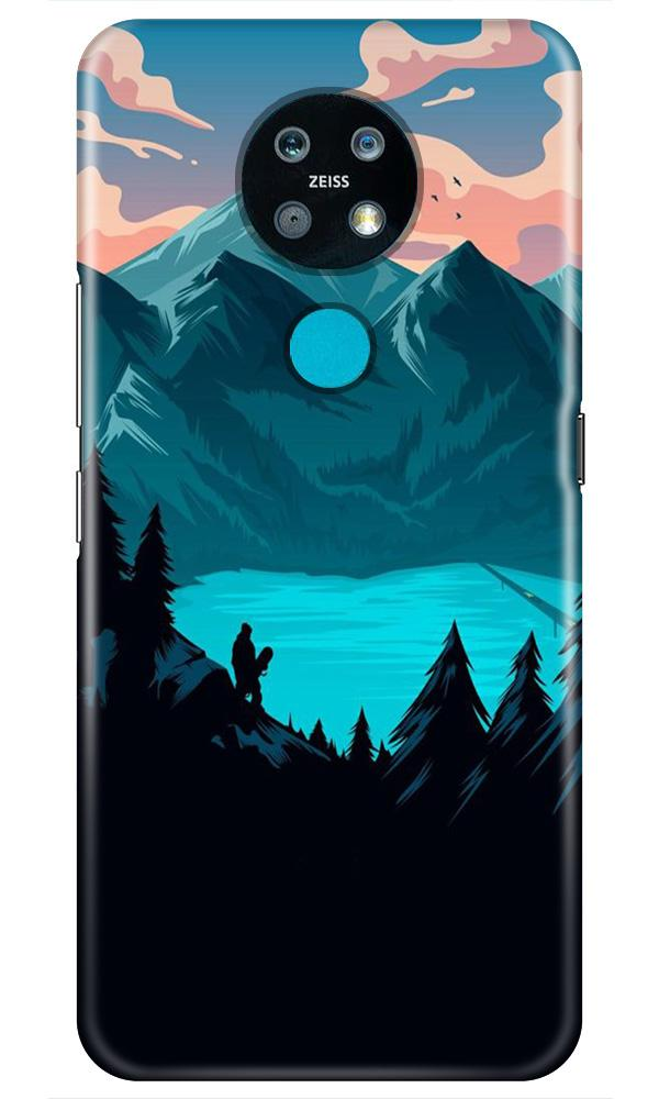 Mountains Case for Nokia 7.2 (Design - 186)