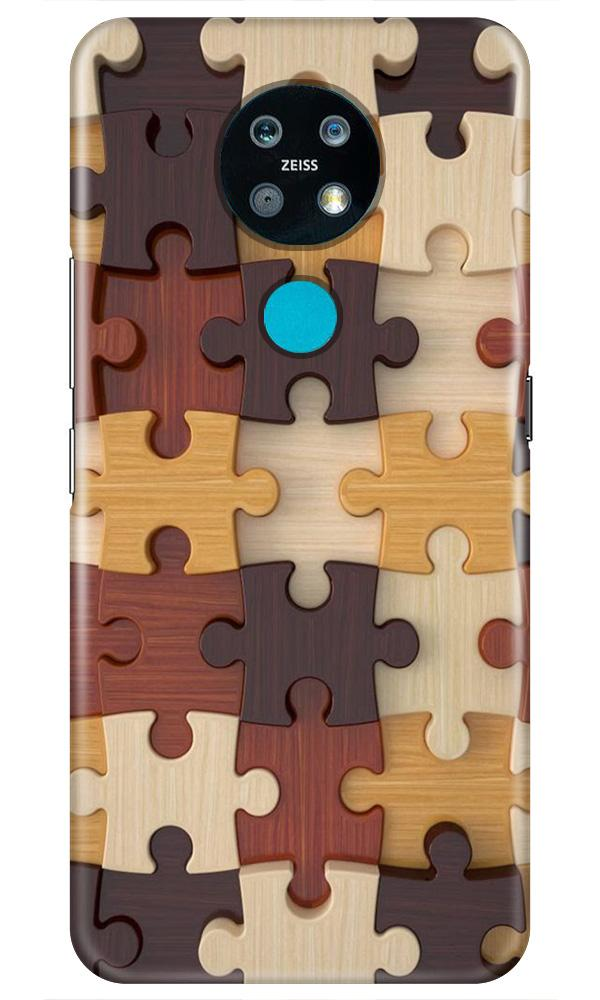 Puzzle Pattern Case for Nokia 7.2 (Design No. 217)