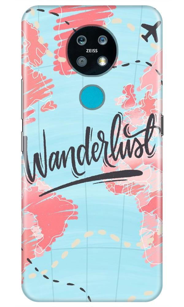 Wonderlust Travel Case for Nokia 7.2 (Design No. 223)