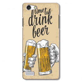 Drink Beer Mobile Back Case for Oppo Neo 7  (Design - 328)